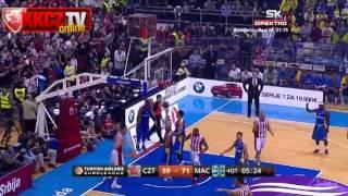 Crvena zvezda Telekom : Maccabi Electra 76:78 | Radenović poeni [Euroleague 7.kolo | 28.11.2013]