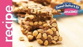 Dark Chocolate Dreams Peanut Brittle Recipe