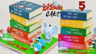DR. SEUSS BIRTHDAY CAKE by Me How I Made
