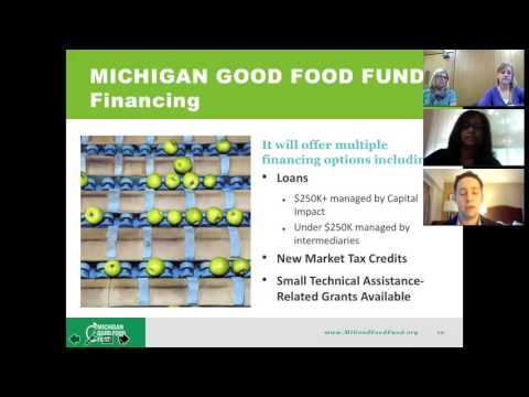 Michigan Good Food Fund Webinar