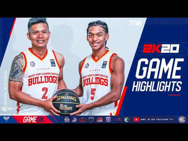Highlights: Mic and Jalen Salon of Bright Start Bulldogs on attack mode at MBL 2K20 Opening Round