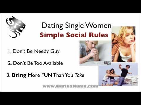 Dating dont be too available