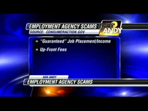 Employment Agency Scams  New York, New York