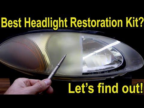 Best Headlight Restoration Kit?  Let's find out!  3M, Sylvania, Meguiar's, Mothers, Turtle Wax & HF