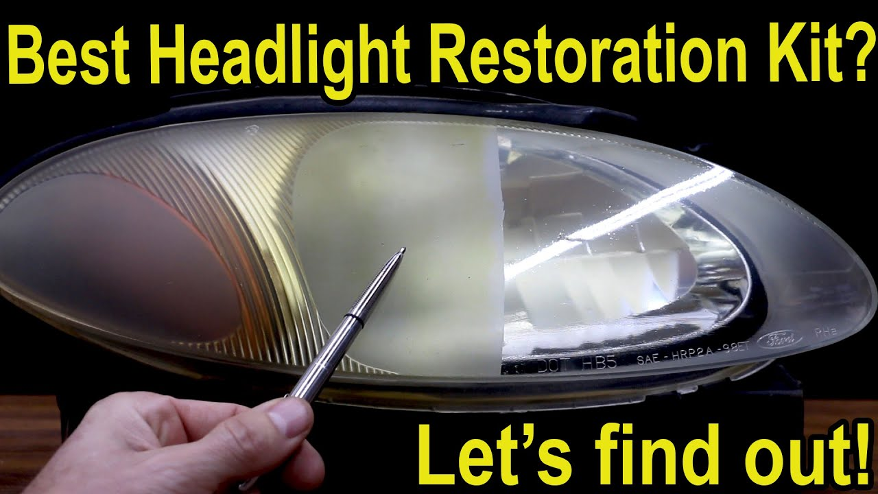 Best Headlight Restoration Kit 2021 Which Headlight Restoration Kit is the Best?