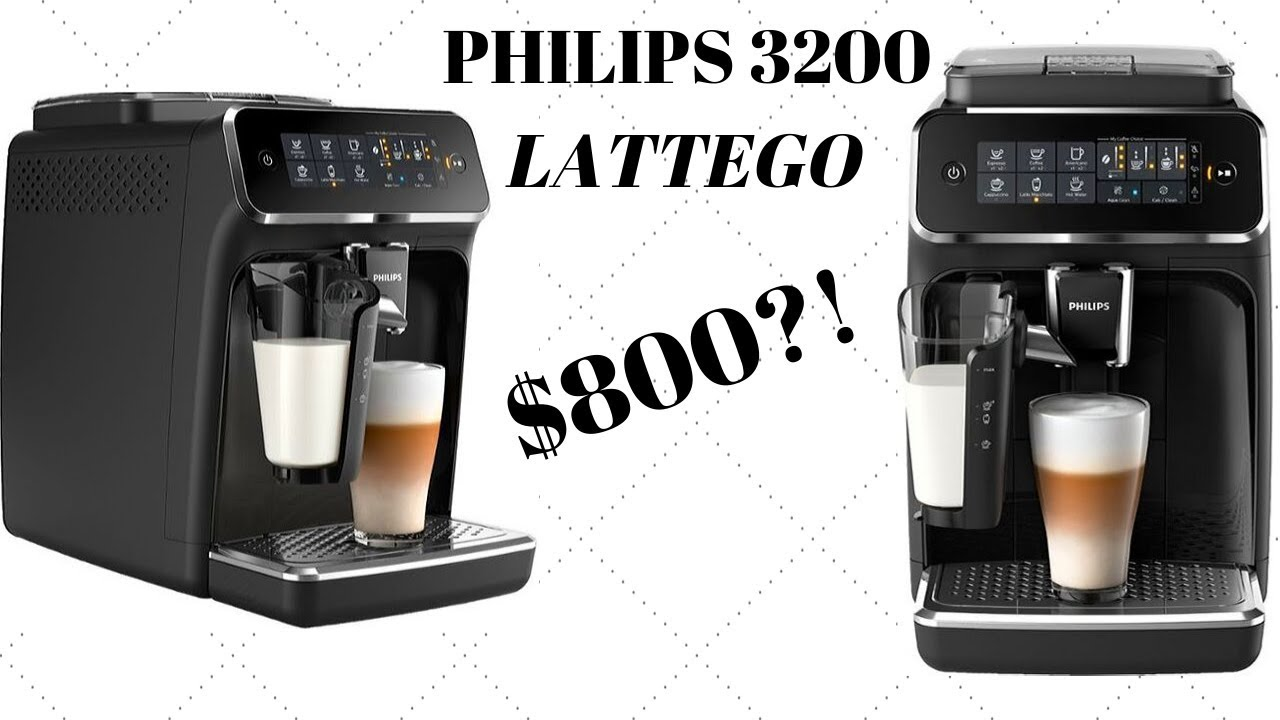Philips 3200 Series Latte Go Coffee Machine Review