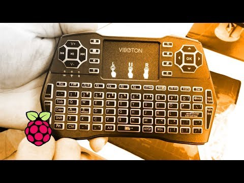 Raspberry Pi 3 X Viboton I8 Plus Mini Wireless Keyboard Mouse Combo Unboxing