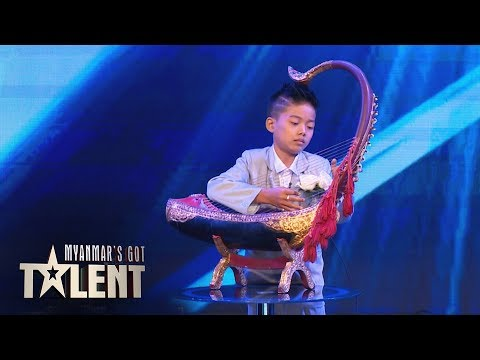 Aung Phyo San: Auditions | Myanmar's Got Talent 2018