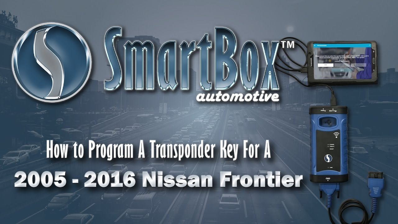 How To Program A Transponder Key To A 2005 2016 Nissan Frontier