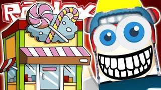 DanTDM Roblox: MY OWN CANDY FACTORY!! The Diamond Minecart