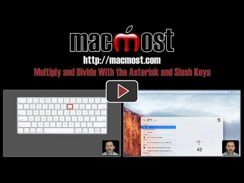 Multiply and Divide With the Asterisk and Slash Keys (#1446)