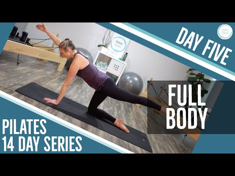 Day Five Pilates FULL BODY Workout (14 Day Pilates Workout Series)