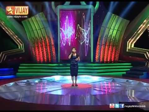 Super Singer   Parvathy sings Unna Vida