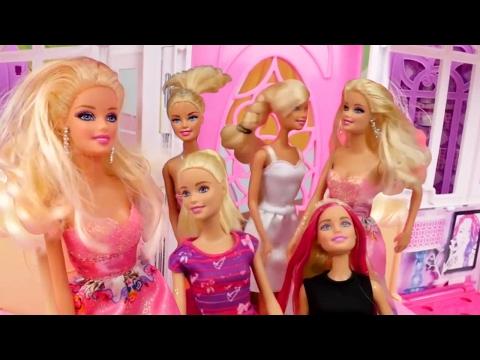 Kuaför Oyunları. Barbie seti açılımı