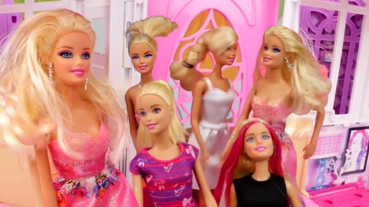 Polen Ve Kardelen Ile Barbie Oyunları Kuaför Oyunu Youtube
