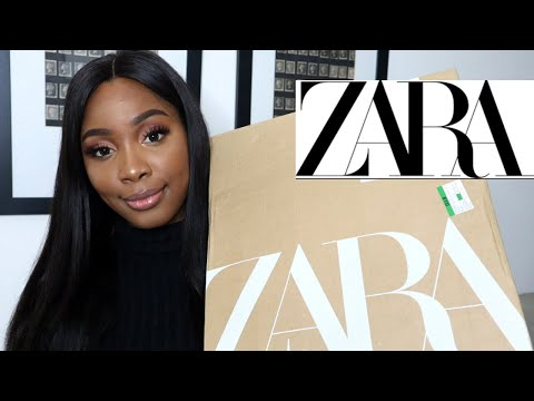 HUGE A/W ZARA TRY ON HAUL | Zaynab Alyson