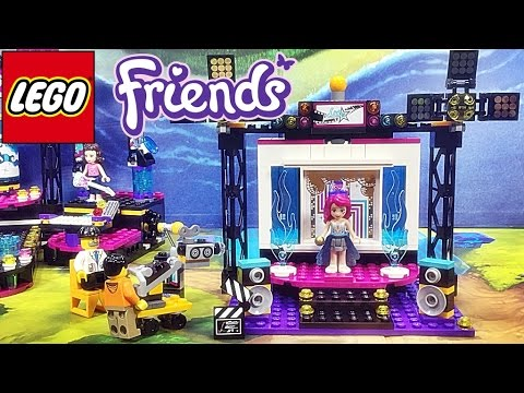 레고 프렌즈 41117 리비 팝스타 TV 스튜디오 리뷰 Lego Friends Popstar TV-Studio Livi
