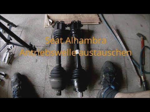 ANTRIEBSWELLE STECKWELLE FLANSCHENWELLE PASST FÜR FORD GALAXY SEAT ALHAMBRA