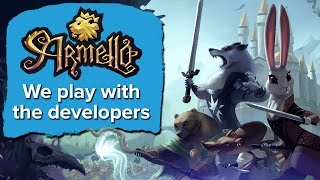 Eurogamer plays Armello with the developers (PC Gameplay)