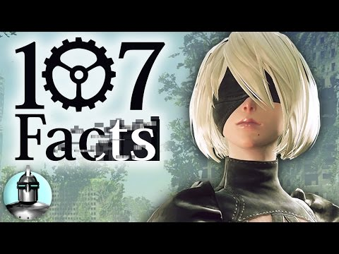 107 Nier Automata Facts YOU Should Know! | Gameplay Tips, Lore, Secrets | The Leaderboard