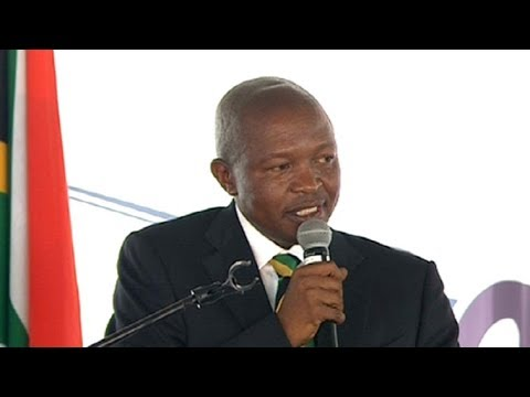 Deputy Pres Mabuza delivers Human Rights Day keynote address
