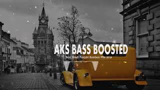 Gambar cover Best Hindi Punjabi Remixes Mix 2018    BASS BOOSTED    AKS BASS BOOSTED