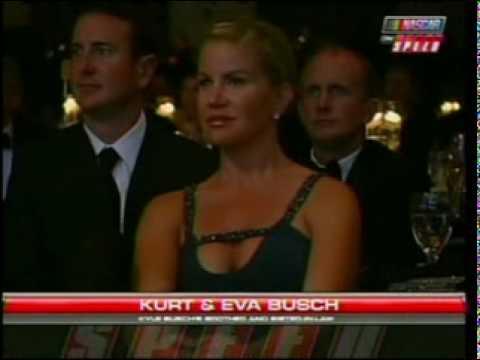 Kyle Busch championship Winner Nascar Nation Wide Series Banquet 2009