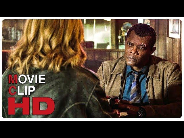 Nick Fury Interrogates Carol Danvers Scene Extended | CAPTAIN MARVEL (2019) Movie CLIP HD