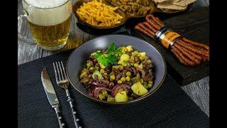 Салат с колбасками KABANOS РЕМИТ