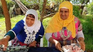 طرواكار 😂 لحم الراس بالحمص بطريقة لالة دريسية مع لالة حادة