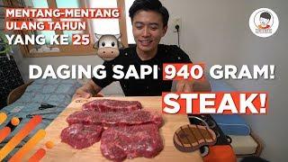 Download Video SIKAT HABIS DAGING SAPI 940 GRAM!! (MENTANG-MENTANG ULTAH) MP3 3GP MP4