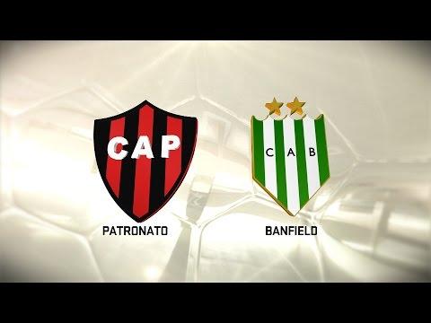 Fútbol en vivo. Patronato vs. Banfield. Fecha 8. Torneo de Primera División 2016/2017. FPT