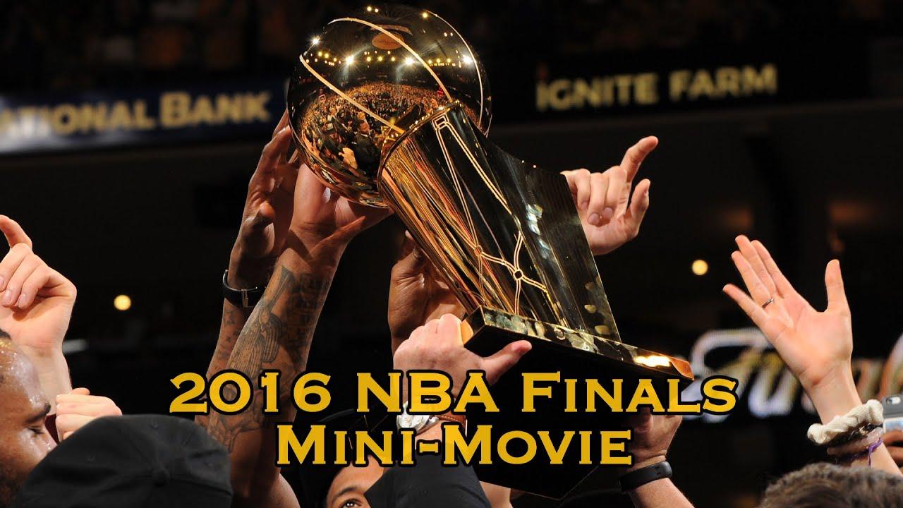 2016 nba finals mini