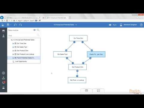1st Guide to Dashboards IBM Cognos Analy (V11) : Improving Mod –Examining Data Model  | packtpub.com