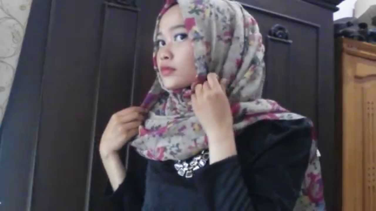 HIJAB TUTORIAL Hijab Simple For Hangout By Yolasyahputri YouTube