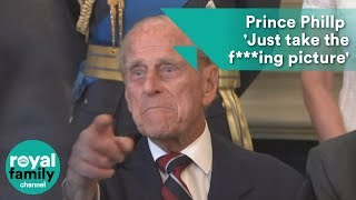 Prince Philip to photographer: Just take the ****ing picture