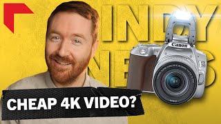 Canon SL3: $550 4K DSLR | Indy News