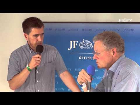 JF-TV Direkt. Dieter Stein und Konrad Adam