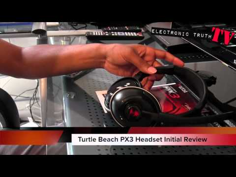 Turtle Beach PX3 Headset Unboxing