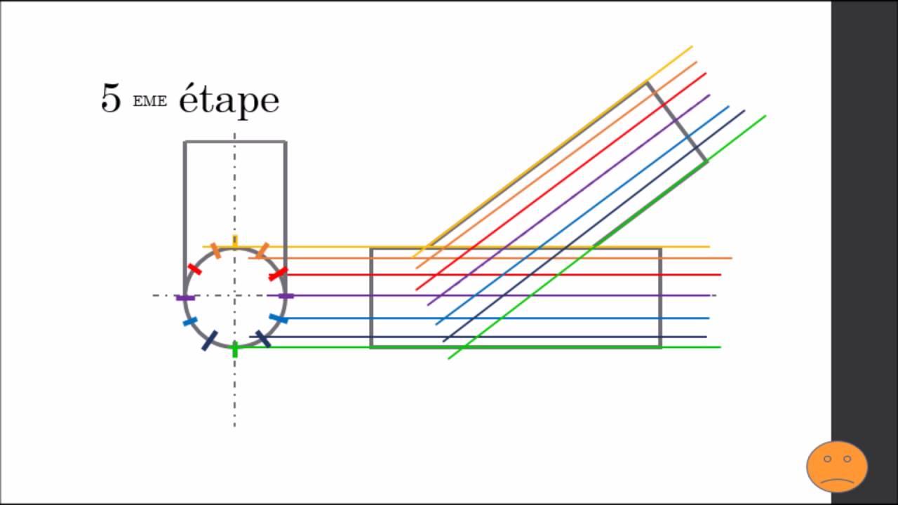 D couper une gueule de loup dans un tube rond youtube - Comment couper un angle a 45 degres ...