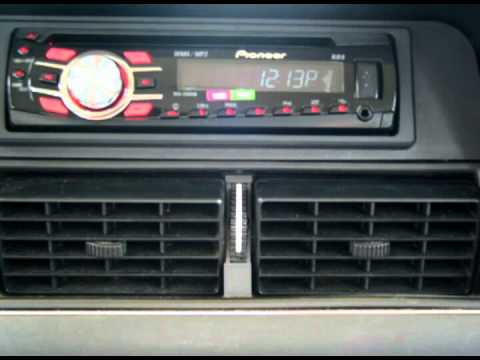 Volvo 240 stereo installation upgrade and speakers  YouTube