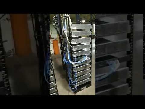 World Private Mining Facility Server Racks