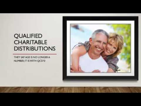 Qualified Charitable Distributions - SECURE Act changes