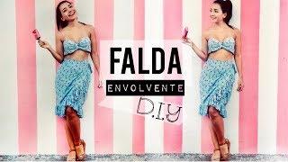 Como Hacer una Falda Envolvente | DIY