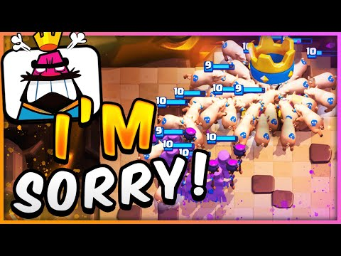 EVERYONE WILL HATE YOU! MOST EVIL DECK in CLASH ROYALE! 😈