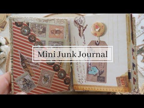 DIY Mini Junk Journal