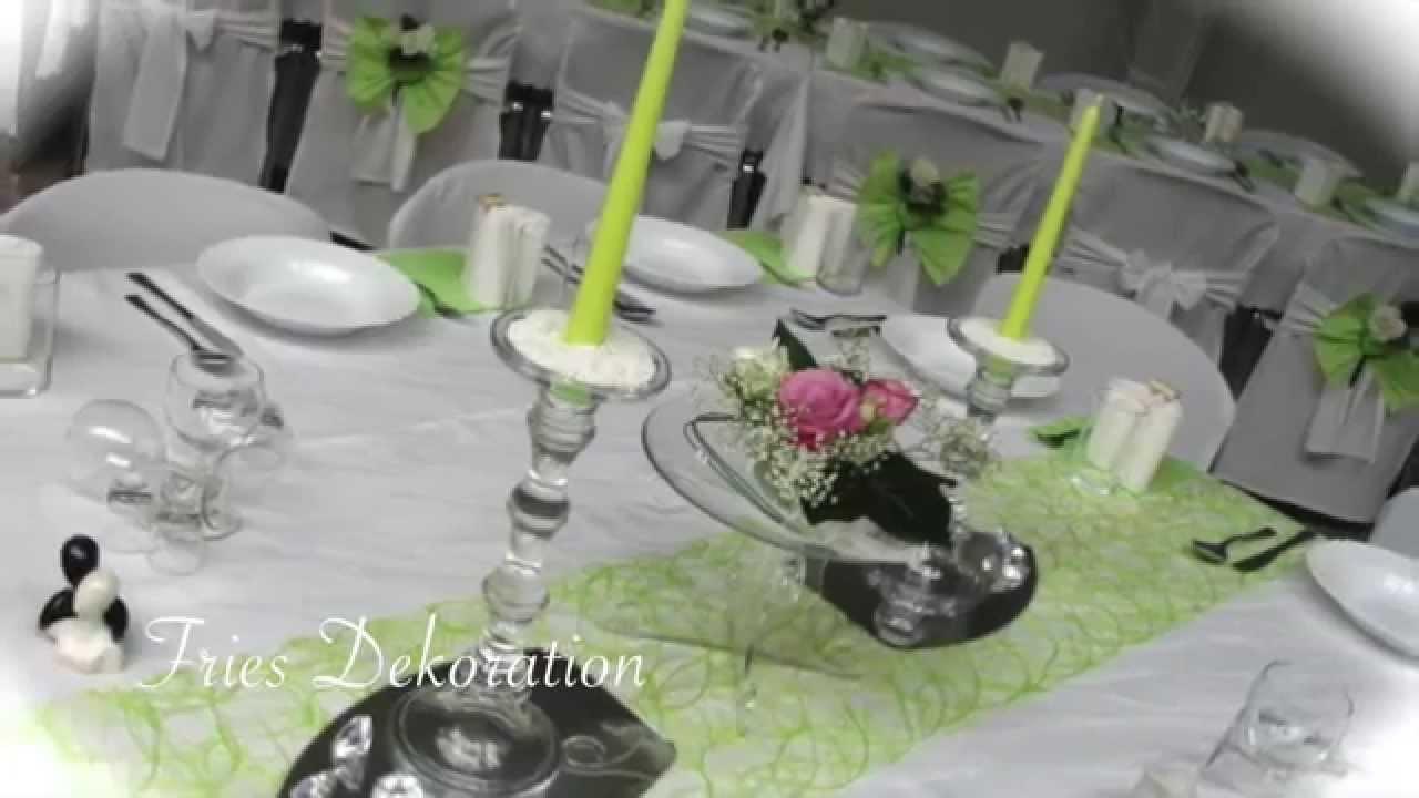 Tischdeko Hochzeit Hochzeitssaal Eventhalle Nurnberg Furth Youtube