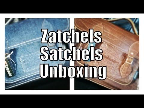 Zatchels Satchels Unboxing