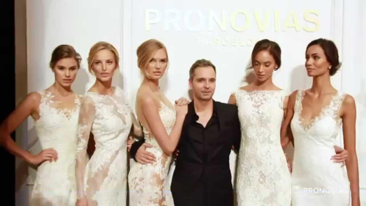 10ccb07e37ae Pronovias NYC Fashion Show - YouTube