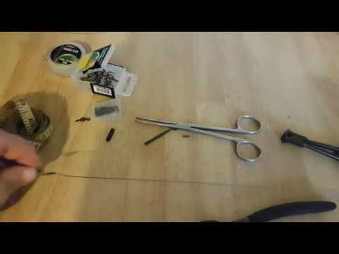 Making Wire Traces For Pike Fishing Deadbaits